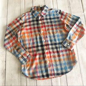 NWT Gap kids button down shirt